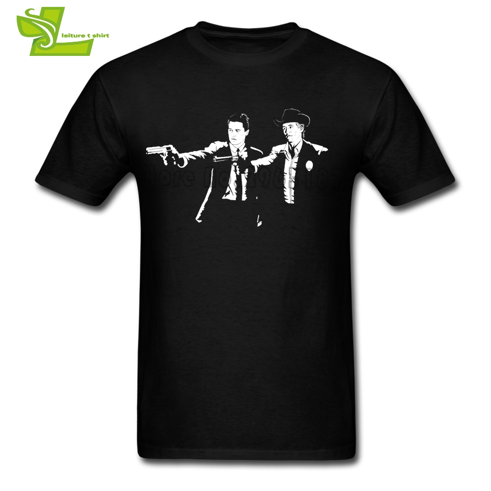 Twin Peaks Fiction T Shirt Teenage Newest Personality Camisetas Home Wear Loose T-Shirts Mens Summer Club Teenboys Clothes