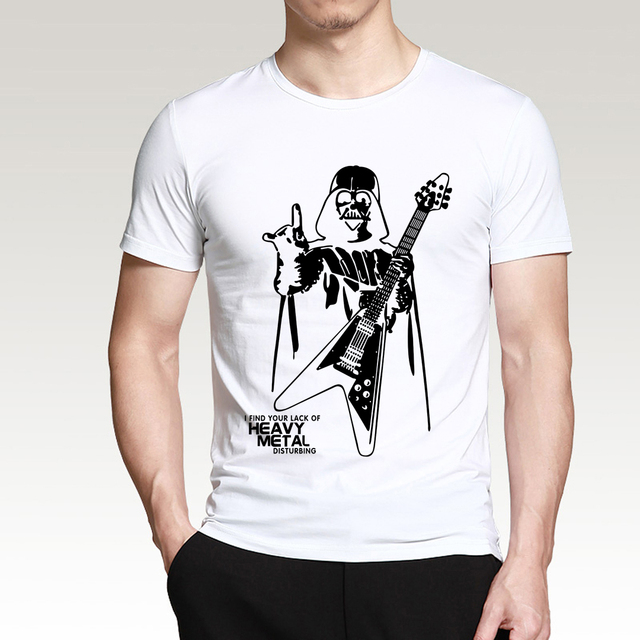 Star Wars Darth Vader I Find Your Lack Of Heavy Metal Disturbing T-Shirt