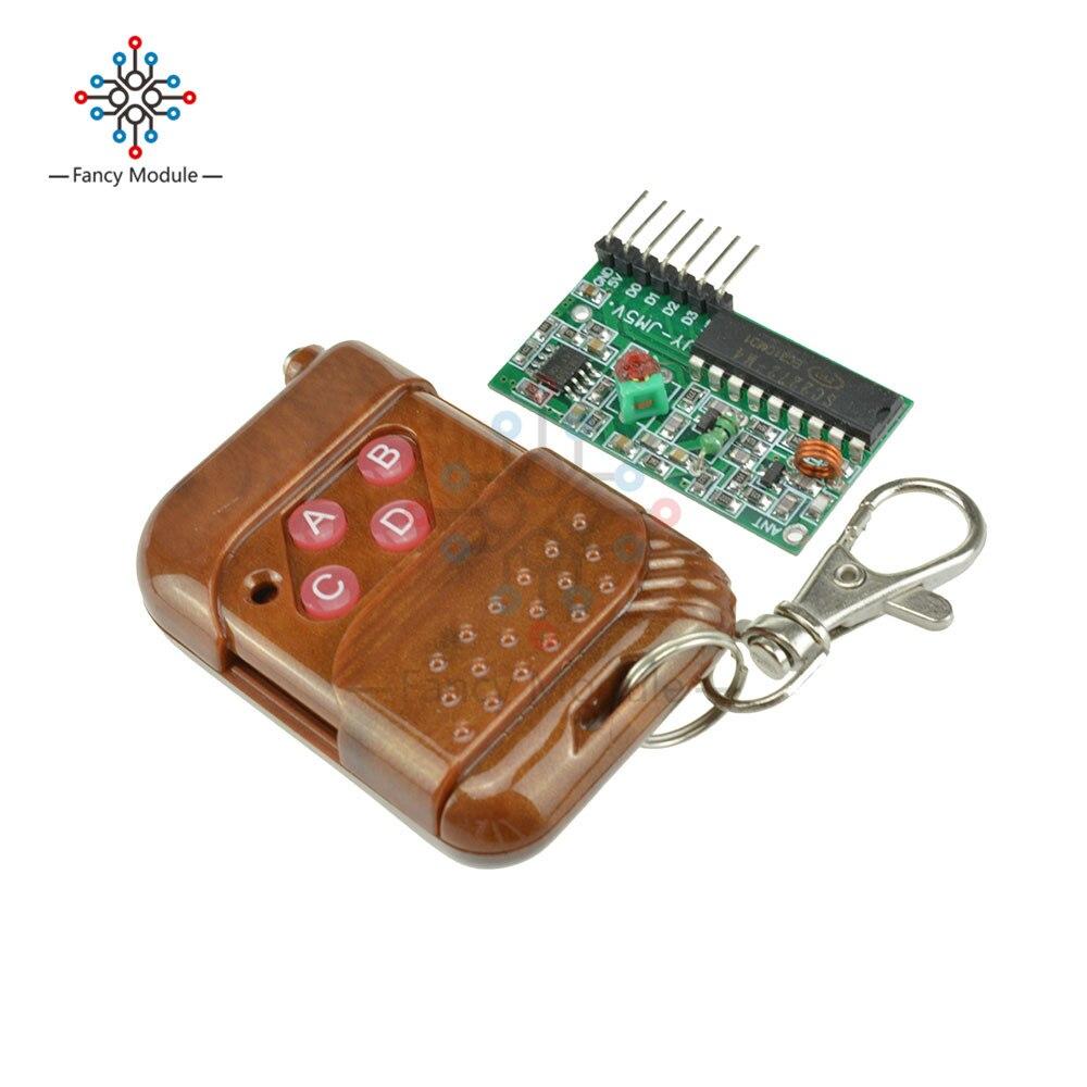 IC2262/2272 4 channel wireless remote control kits 4 key wireless remote 433MHZ
