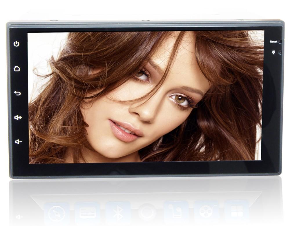 "Sale 7"" HD  Quad Core Android 6.0 2 Two Din Universal Car DVD Radio GPS Stereo Navigation Playe for old Nissan Hyundai Kia 0"