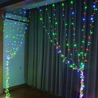 Garland LED Curtain light 6x3M Icicle Curtain String Lights 8 Modes for Wedding Festival Party Ceremony Christmas decoration