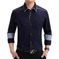 Autumn New Korean Long Sleeved Cotton Shirt Shirt Slim Metrosexual Shirt Manufacturers Selling 331