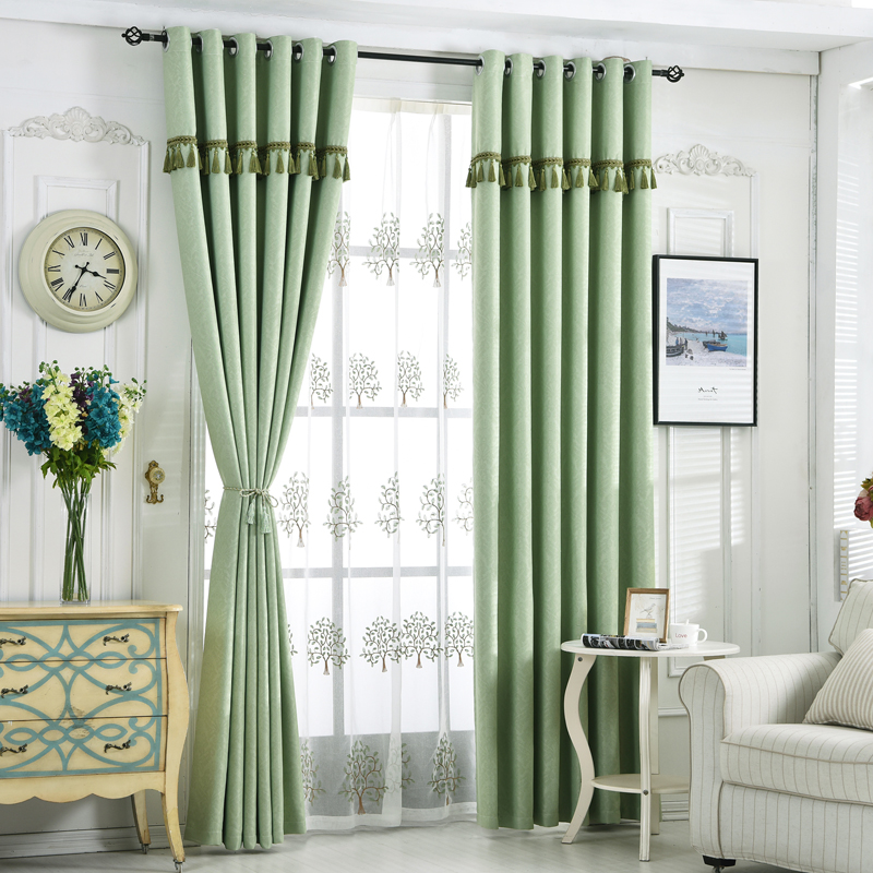 Byetee Modern Living Room Luxury Window Curtains Striped: {Byetee} Modern Fashion Beaded Living Room Curtain For The
