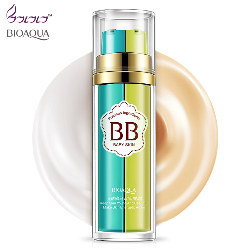 bioaqua makeup bb cream,foundation,bb and foundation in one bottle,base, natural bband cc cream keep skin young and bea цена