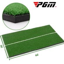 PGM 60 * 30cm Golf Practice Mats 10MM Thicker Golf Pad Indoor Swing Practice Mat For Beginner Rubber Training Golf Mats
