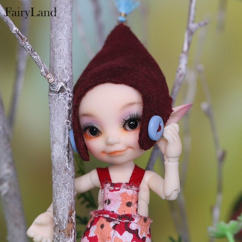 Image 3 - New arrival Fairyland FL Realpuki Toki 1/13 bjd sd resin figures  luts yosd kit doll for sales toy gift High quality resin dollsDolls
