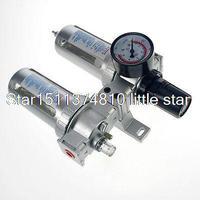 1PCS SFC 300 PNEUMATIC AIR FILTER REGULATOR LUBRICATOR BSP 3 8