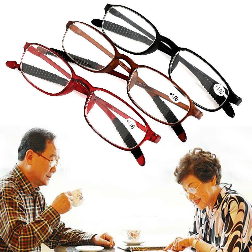 ผู้หญิงผู้ชายยืดหยุ่นแว่นตาผู้อ่านแว่นตา Presbyopic