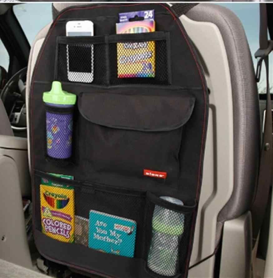 Car Seat Bag Storage Multi Pocket Organizer Car Seat Back Bag Car Accessories 8.6