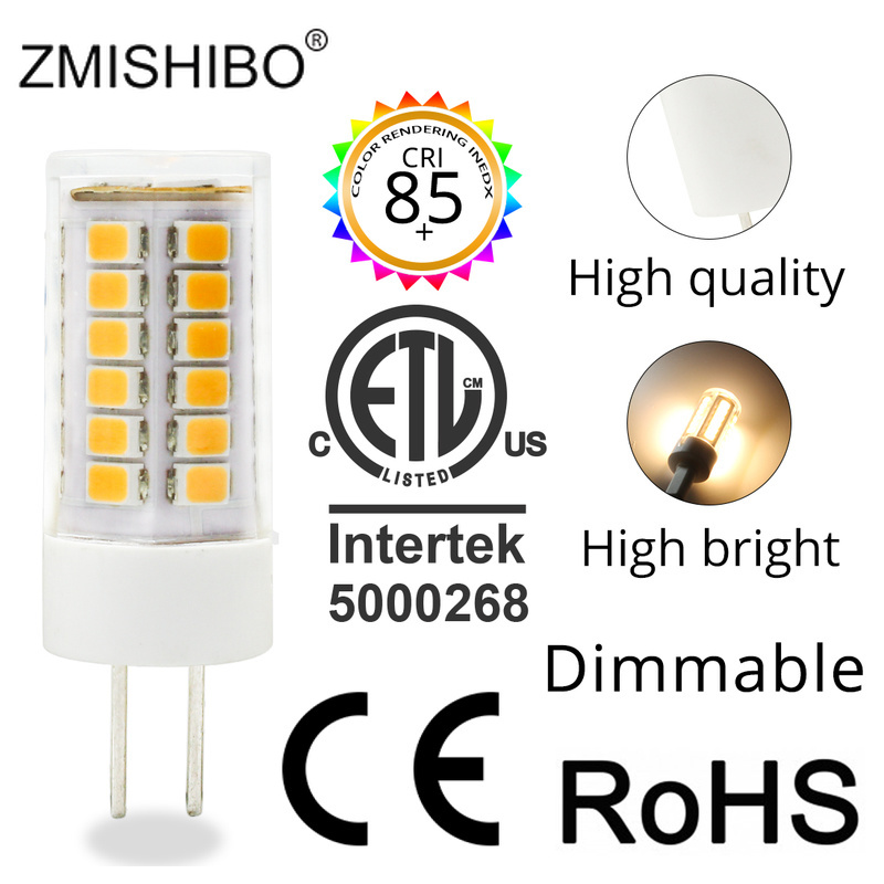 ZMISHIBO High Lumen Ceramic LED G4 Bulb 1.5W 2.5W 3W AC/DC 12V Silica Gel Warm White Cold Dimmable bulbs 10PCS/Lot