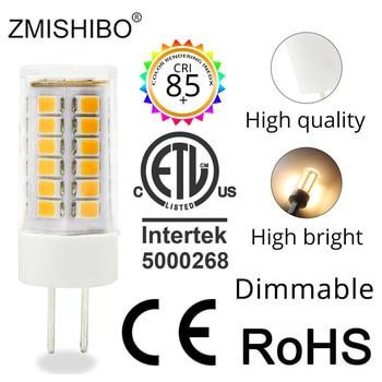 цена на ZMISHIBO High Lumen Ceramic LED G4 Bulb 1.5W 2.5W 3W AC/DC 12V Silica Gel G4 Warm White Cold White Dimmable bulbs 10PCS/Lot