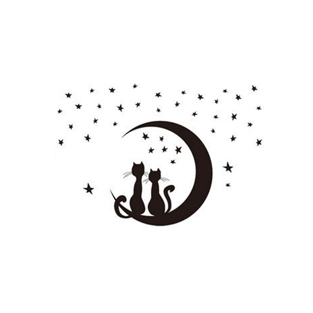 Cat Wall Decor online buy wholesale black cat wall stickers from china black cat