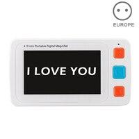YS010 2019 Горячая продажа 4,3 дюймовый цифровой зрительный увеличитель цветной ЖК экран с низким видением помощь для чтения SN Горячий