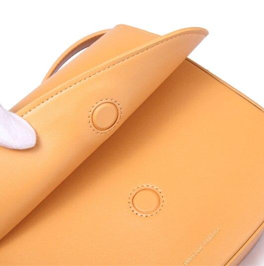 MANSURSTUDIOS Women Split Leather  Crossbody Bag , Lady Leather Shoulder Bag,girl Leather ,mansur Gavriel Saddle Bag,