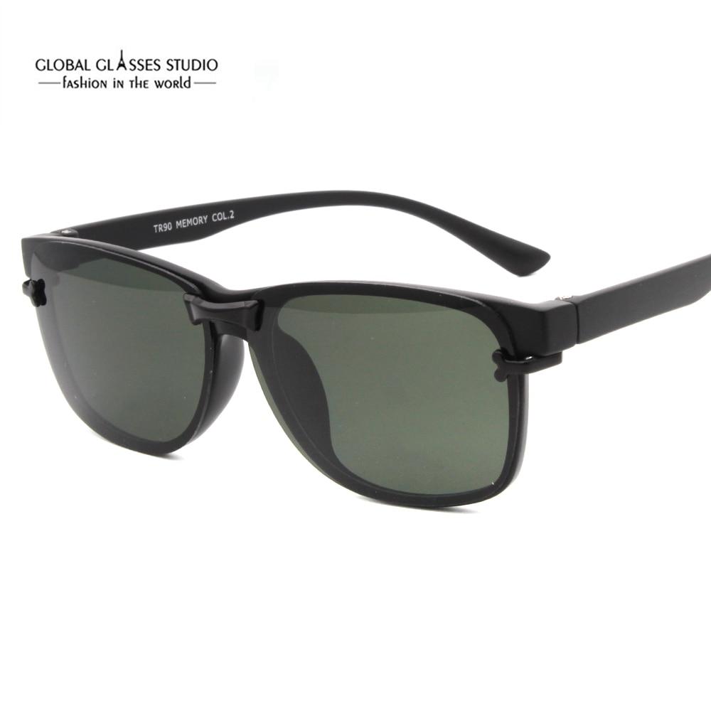 b13db9714b1 Free Shipping Ultra Light Magnetic Polarized Sunglasses Clip Latest Design  Sunglasses Fashion glasses F5117-in Sunglasses from Apparel Accessories on  ...