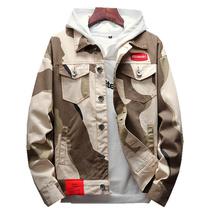 Loldeal Casual MenS Jacket High Quality Army Military Camouflage Men Coats Male Outerwear Overcoat