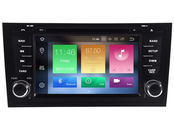 OTOJETA android 8.0 car DVD multimedia player 8 cores 4gb RAM 32gb IPS screen for AUDI A6 S6 1997-2007 RS6 radio gps navigation