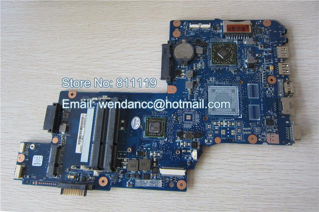 Placa madre del ordenador portátil probó completamente y trabajo perfecto CON CPU para C850D H000062940 DT10AN DSC MB
