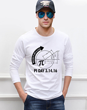 For Adult Pi Day 3 1416 Round Math Graph 2017 new spring 100 cotton high quality