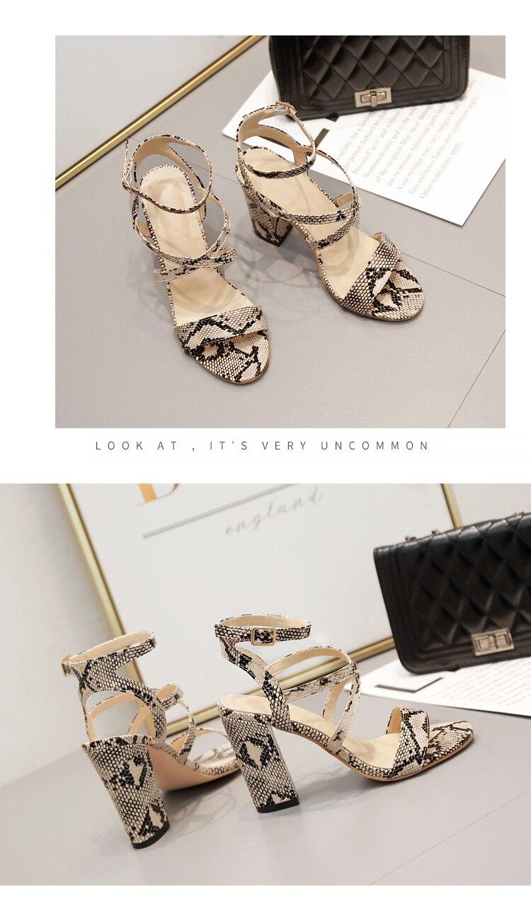 HTB1BYKdaJzvK1RkSnfoq6zMwVXaS Aneikeh 2019 Summer New PU Shoes Women Sandals Sexy Open Toe Gladiator High Heels Women Shoes Big Size 41 42 Sandalias mujer