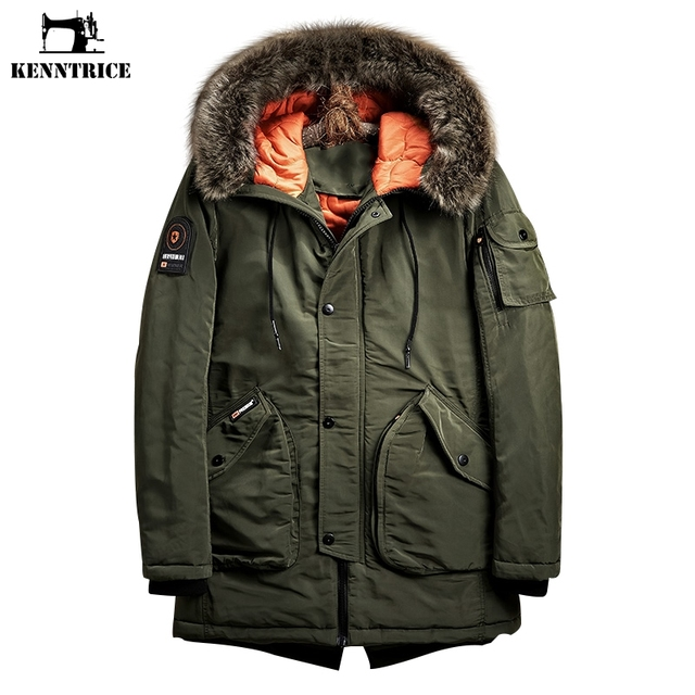 15f2d05b7131 Kenntrice Winter Jackets Mens Military Jacket Men S Windbreaker Parka Men  China Import Goods Cotton Fabric