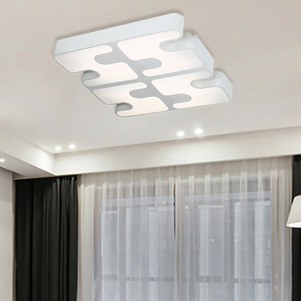 IPROLED 90W 2.4G RF remote control or wifi control  CCT2800k-6500k  and brightness  surface mounted led ceiling light