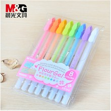 Ball Highlighter-Pencil Clear-Color Gel-Pens Office-Supplies Good-Material Stationery School