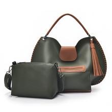2016 New Casual Trazepe women bag shoulder bags brand fashion designer handbag Solid Composite Bag High Quality women totes