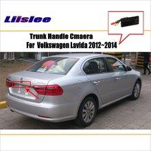 Car Parking Camera / Reverse For VW Volkswagen Lavida 2012~2014 RearView  Trunk Handle OEM