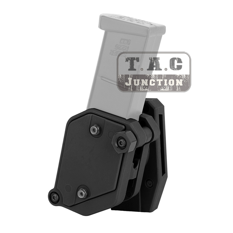 IPSC Magazine Holster USPSA IDPA Mag Pouch Carrier Tactical Multi-Angle Adjustment Speed Competition Shooting Mag Holder