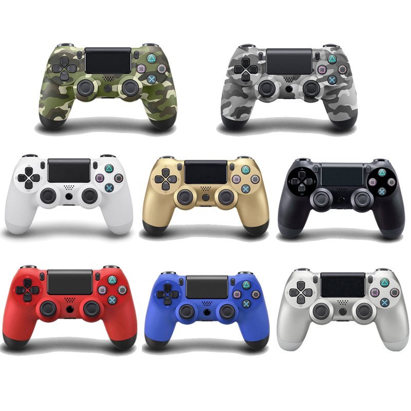 For PS4 Wireless Bluetooth Controller For Play Station 4 Joystick Wireless Console For Dualshock Gamepad For SONY PS4 rnx ps4 accessories joystick ps4 wireless chatpad play station 4 message keyboard for playstation 4 game gaming controller