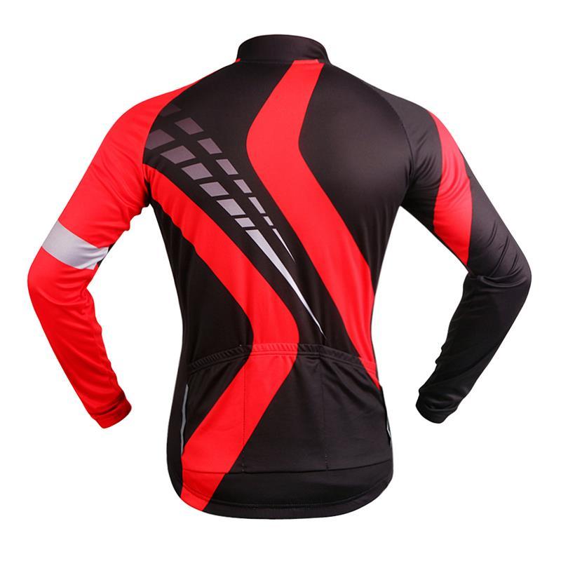 WOSAWE Pro Biciklizam odjeća s dugim rukavima Jersey set disanje 3D - Biciklizam - Foto 3