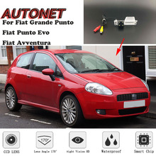 AUTONET HD камера заднего вида ночного видения для Fiat Grande Punto Fiat Punto Evo Fiat Avventura 3D 5D хэтчбек