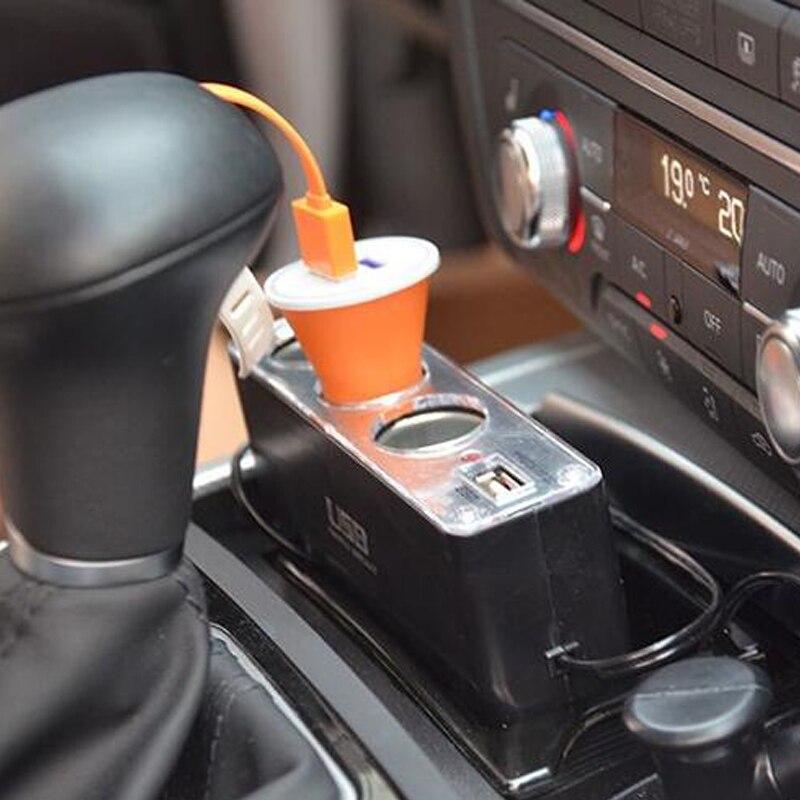 Nuevo diseño Cargador de coche tres Expansin uno USB 12-24v 5A - Accesorios de interior de coche - foto 4