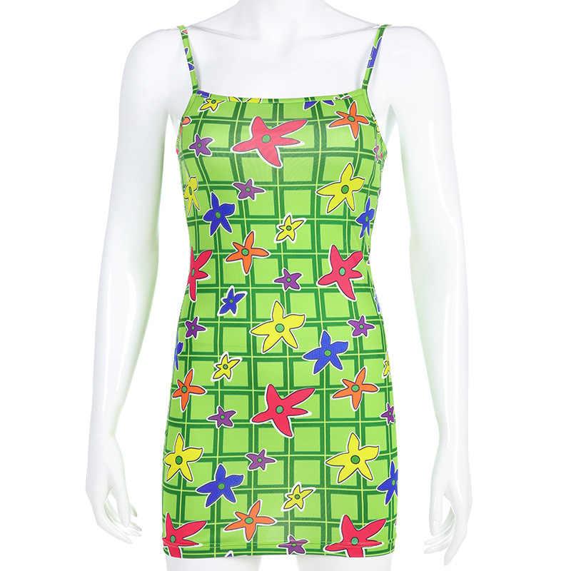 3D зеленый плед печати девушку Летнее платье без рукавов быстрое высыхание вечерние путешествия пляжное платье S/M/L