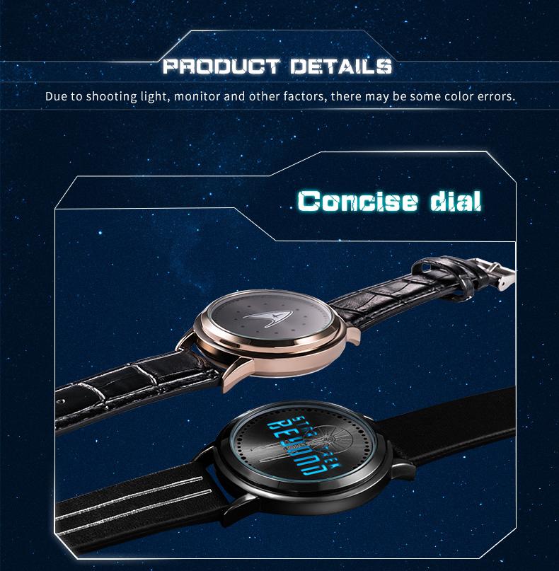 STAR TREK Models Spock Starfleet Spock LED waterproof touch screen watch hot tv series Christmas Gift 13