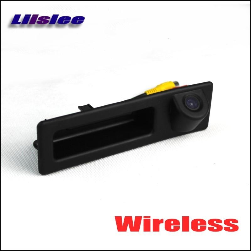 Liislee Wireless Car Rear View Camera For BMW 5 F10 F11 F07 2011~2015 / HD Back Up Reverse Camera / DIY Plug & Play Trunk Handle стоимость