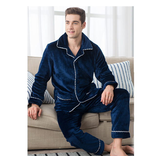 2017 hiver flanelle pyjama hommes hombre onesie hommes for Pyjama homme chaud