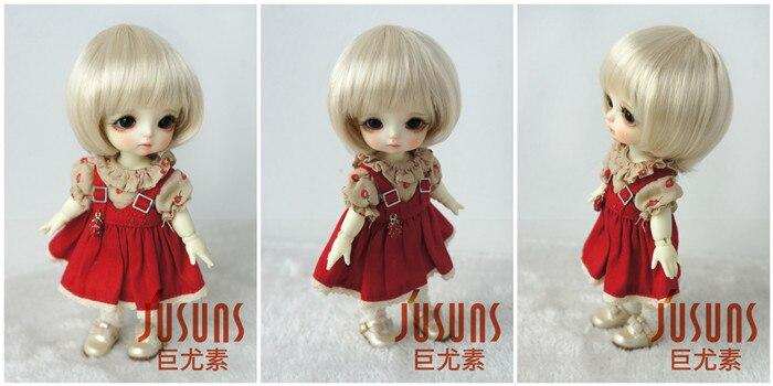 JD025 1/8 1/6 модный короткий парик BJD с челкой для размера 5-6 дюймов 6-7 дюймов кукла мягкий синтетический мохер кукла аксессуары