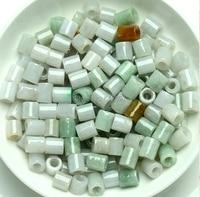 Wholesale 10pcs Chinese 100% A Grade Natural new/Jadeite Round Circle Loose Beads