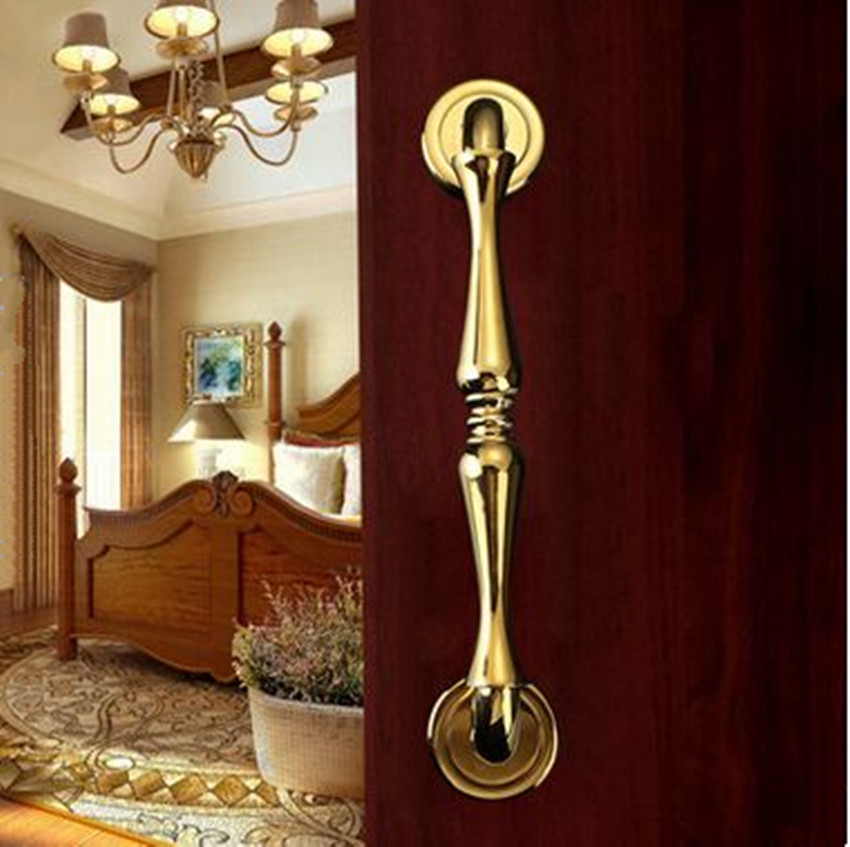 deluxe wooden home office. 284mm Modern Fashion Deluxe Wooden Glass Door Handles K Gold Silver Chrome Home Office Ktv Hotel Handles-in Cabinet Pulls From Improvement On