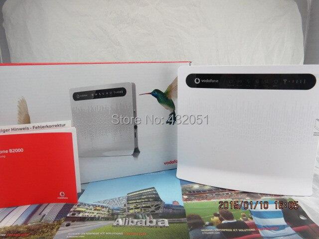 HUAWEI B593u 12 4G LTE CPE Industrial WiFi Router
