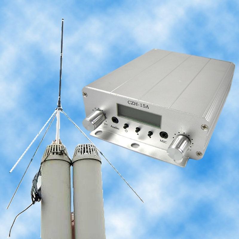 FMUSER CZE-15A15W Kit émetteur radio stéréo FM PLL émetteur - Accueil audio et vidéo - Photo 2