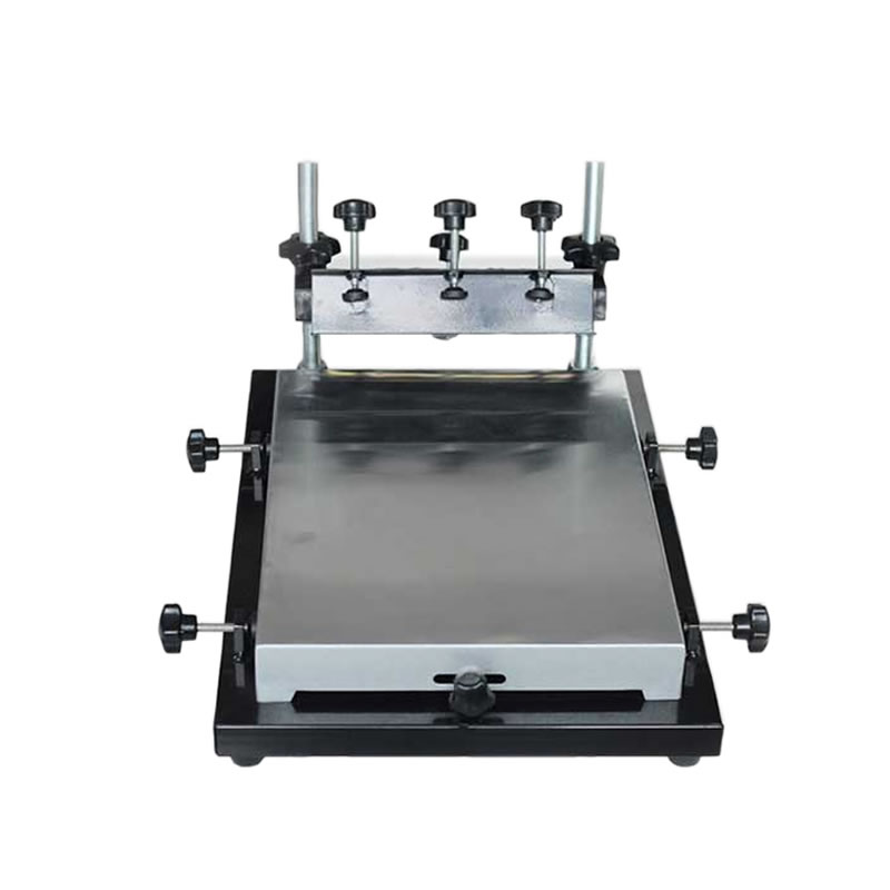 Tools : read glue and solder paste stencil printer Manual adjustment Silkscreen printing table machine