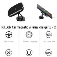 For apple iphone X Car magnetic wireless charger NILLKIN QI standard iphoneX wireless charger CE FCC certification free shipping
