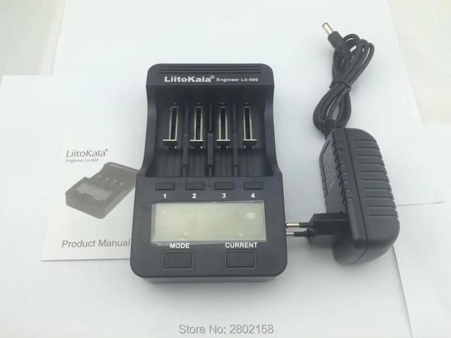 1PCS Liitokala Lii-500 JK 3.7 18350 18500 16340 18650 17500 25500 10440 14500 26650 1.2 AA AAA NiMH lithium zaryadnoe Device