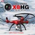 Syma x8hg com câmera de 8mp hd altitude hold modo headless a Resistência do vento 2.4G 4CH 6 Eixo RC Quadcopter Drone RTF Com câmera