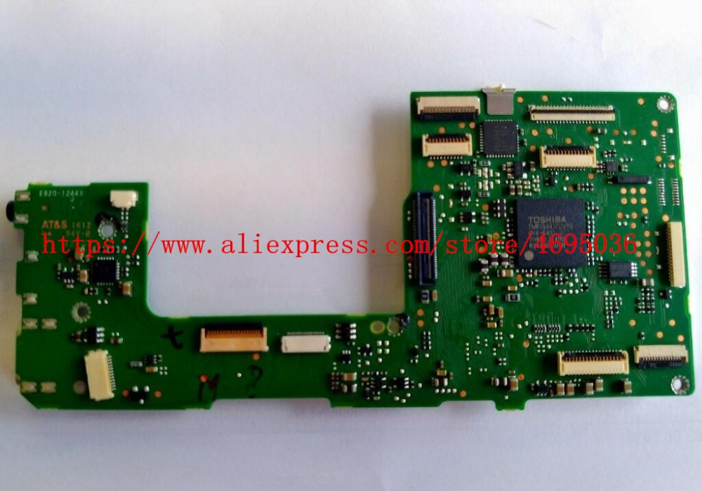 95% New 1100D Motherboard For Canon For EOS Rebel T3 Mainboard Kiss X50 1100D Main Board Repair Parts