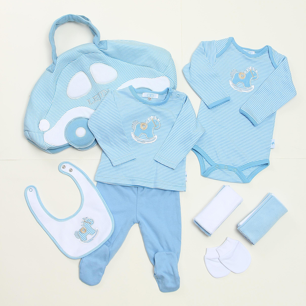 LeJin Mommy Bag Baby Rompers Baby Gift Set Clothing Set Accessories - Pakaian bayi - Foto 3