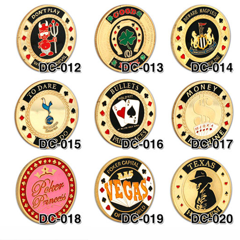41 kinds Option Metal Banker Chips ,Press Card Accessories,High Quality Poker Chips Texas Holdem Accessories